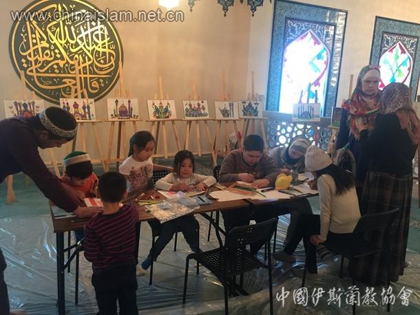 俄罗斯 莫斯科伊斯兰文化节 活动